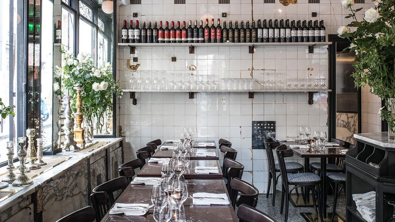 Anahi | Restaurant sud-américain à Paris | Détail architecture intérieure